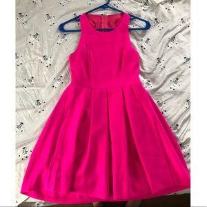 Women's size XS neon pink dress